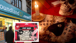 Poundland has been criticised for selling a spirit board
