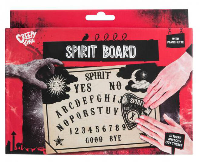 Poundland's spirit board is being sold across the UK