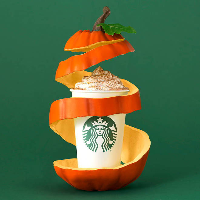 You can now buy a vegan Pumpkin Spice Latte complete with whipped cream!