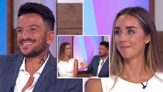 Peter and Emily did a rare joint interview on Loose Women today