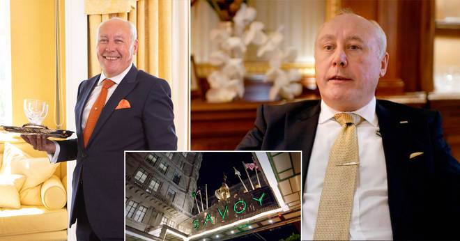 Sean Davoren has been a butler for more than 40 years