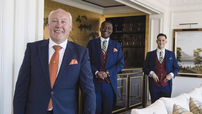 Sean Davoren is head butler at The Savoy