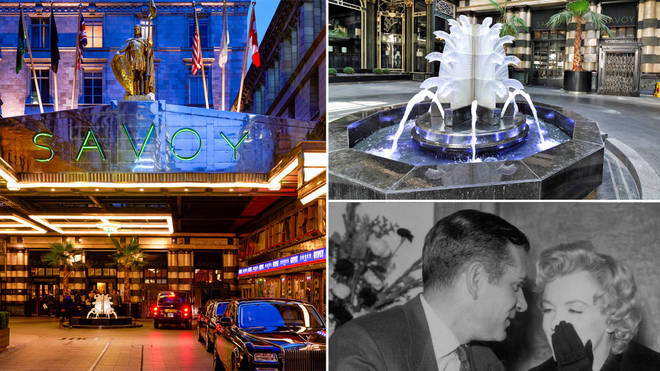 Behind the scenes at The Savoy Hotel