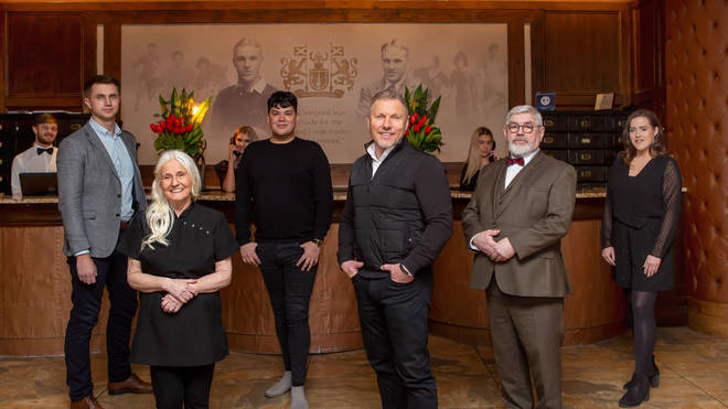 The staff at The Shankly Hotel