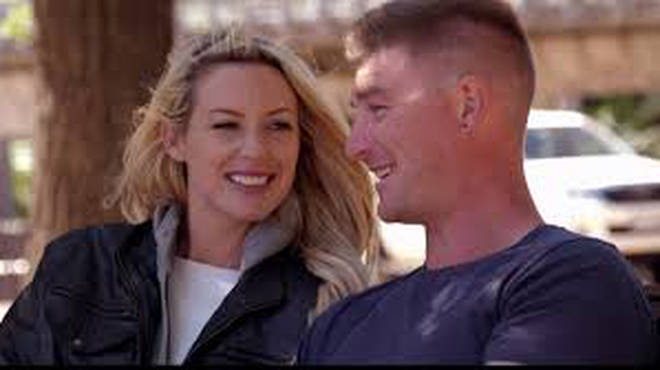 Sharon Marsh and Nick Furphy from Married at First Sight Australia