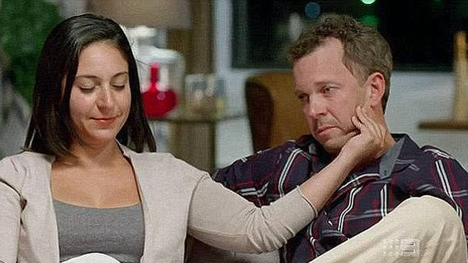 Simon McQuillan and Alene Khatcherian from Married at First Sight Australia