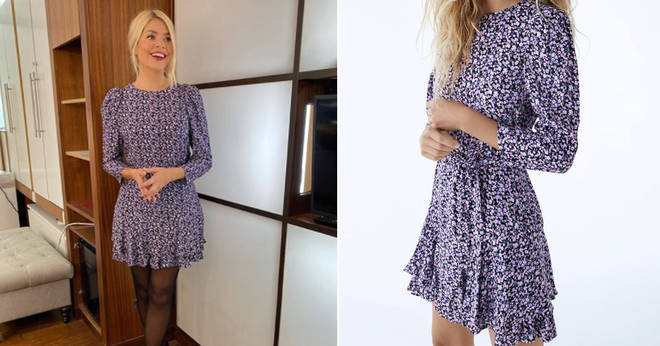 Holly Willoughby's This Morning outfit is from Zara