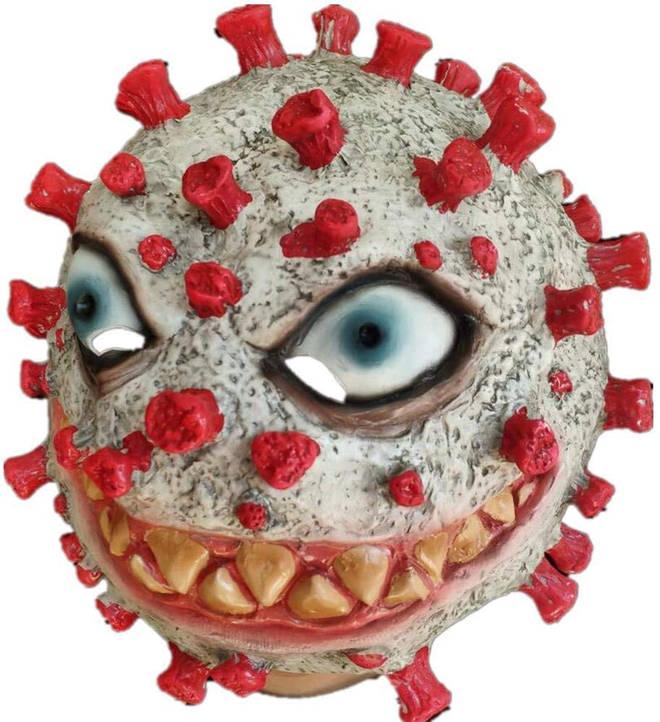 The Halloween Coronavirus masks have been criticised