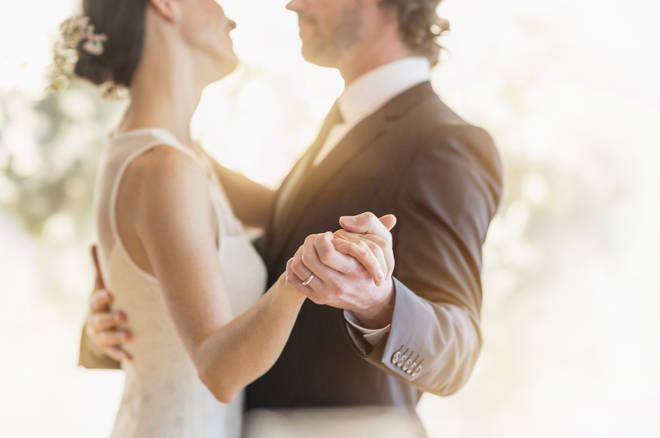 The bride and groom have been slammed online (stock image)