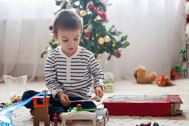 Parents have been warned of a possible toy shortage this year (stock image)