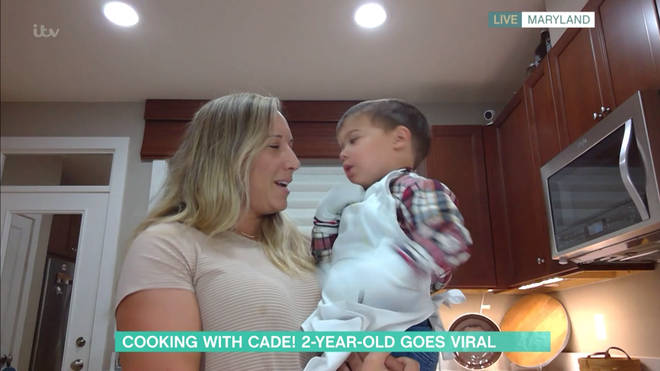 Cade appeared on This Morning earlier today