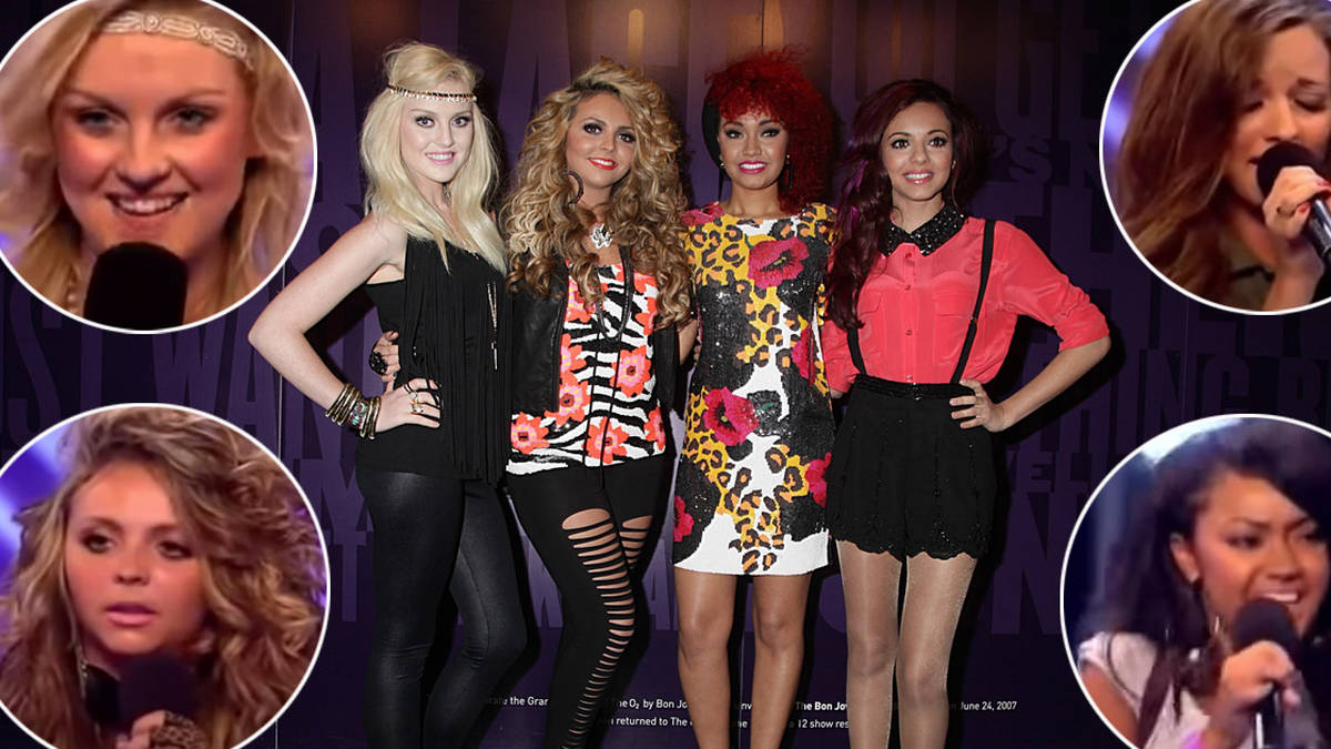 X Factor auditions as soloists ...