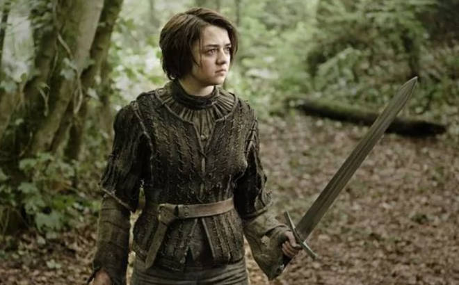 Arya Stark is a character on Game of Thrones