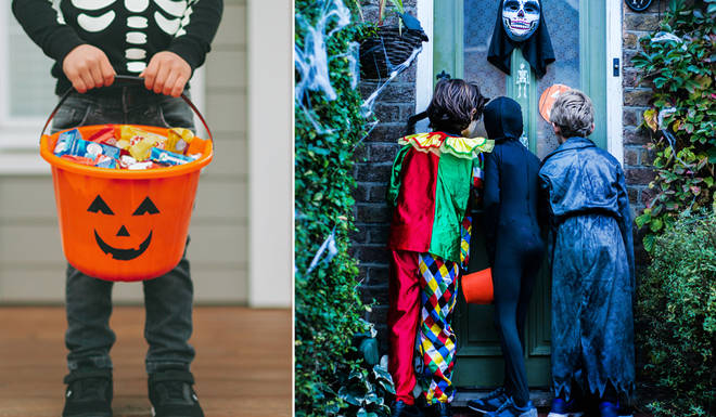 Children will not be allowed to trick or treat in certain areas across the UK