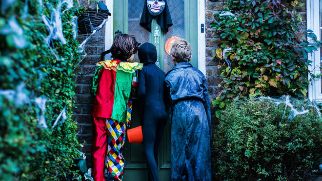 Trick or treating hasn't been advised by medical experts