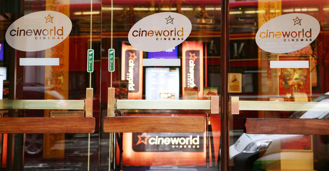 Cineworld confirms it's closing 127 UK cinemas from Thursday