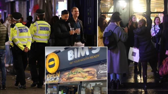 Bim's takeaway have been fined £1,000 for breaking curfew rules