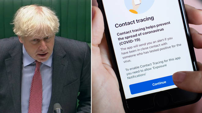 The NHS track and trace app was launched in September