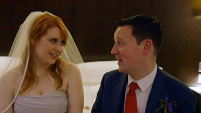 Sara and Adam from Married at First Sight UK