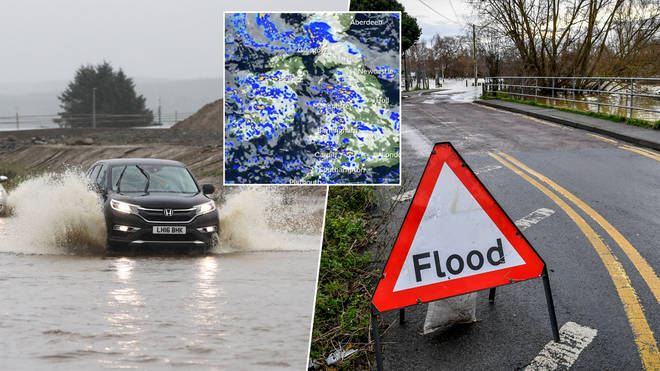 The UK could see flash floods this week