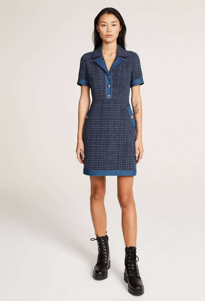 Holly Willoughby's dress is from Claudie Pierlot