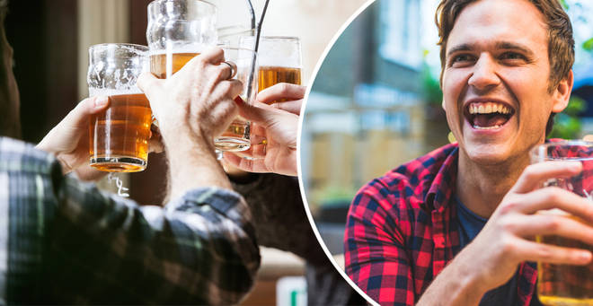 You can claim a free pub drink this October (stock images)