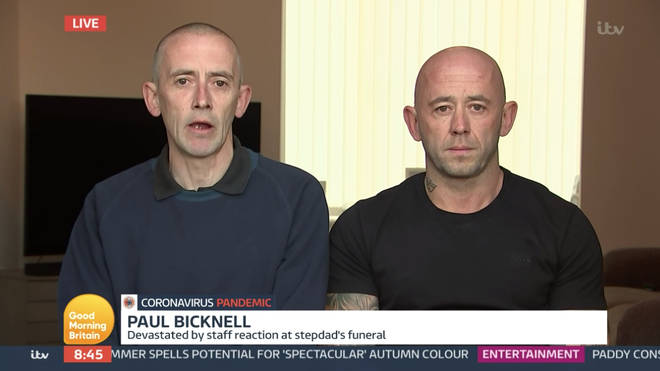 Paul and Craig appeared on Good Morning Britain to talk about the heartbreaking moment they were told to move away from their mum