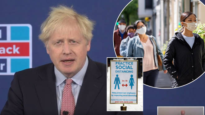 Boris Johnson has vowed to end social distancing by October 2021