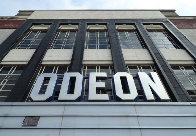 Odeon announced the news in an email to customers