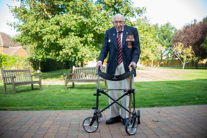 Captain Sir Tom has offered tips on combatting loneliness in older people