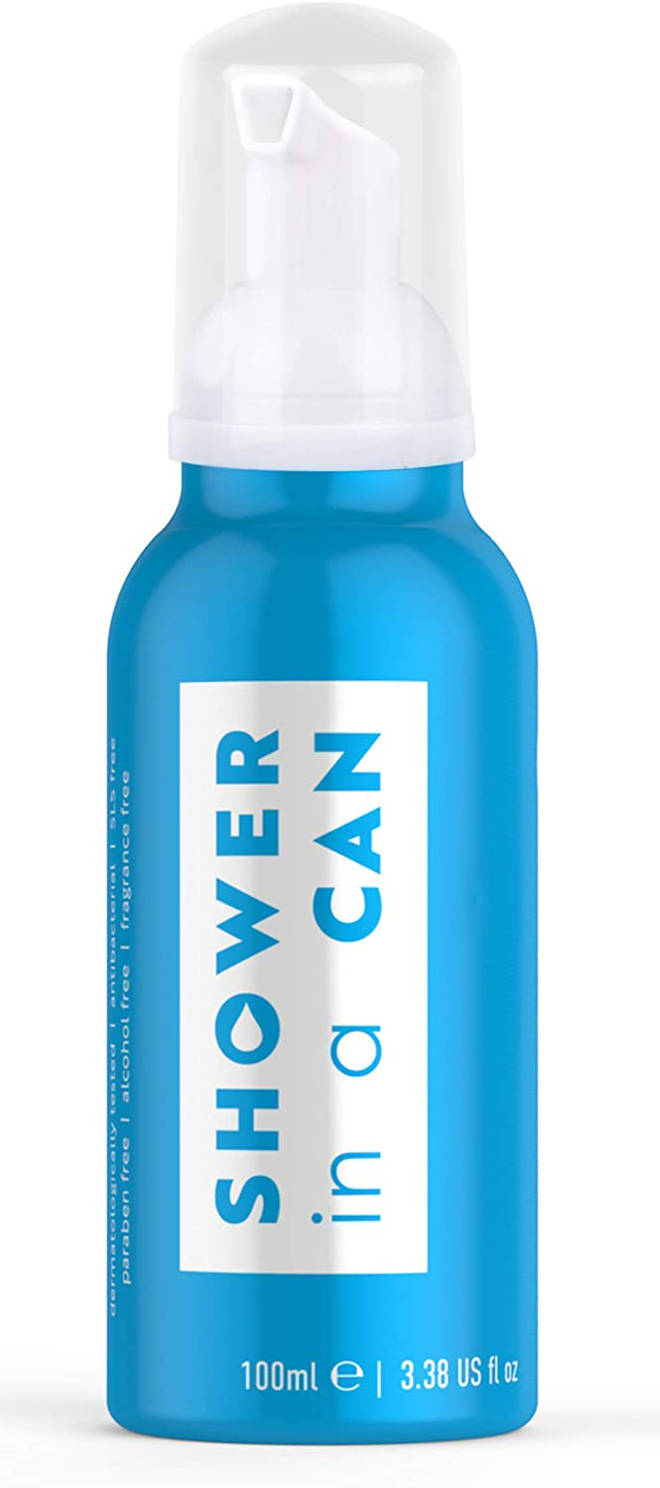Shower in a Can, £9.99