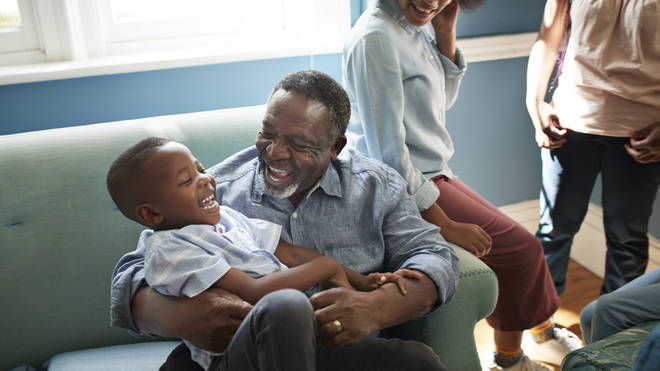 Grandparents can receive money for taking care of their grandkids