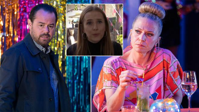Is EastEnders' Mick Carter Frankie's dad?