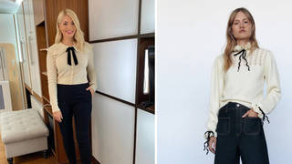 Holly Willoughby's jumper is from Zara
