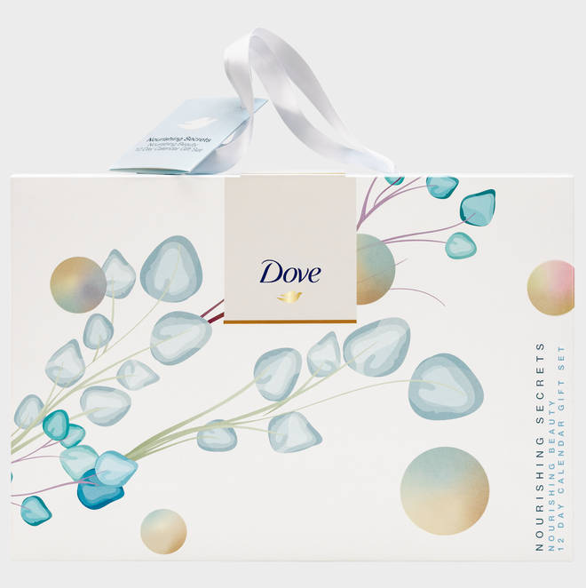 The Dove beauty advent calendar comes in three different designs