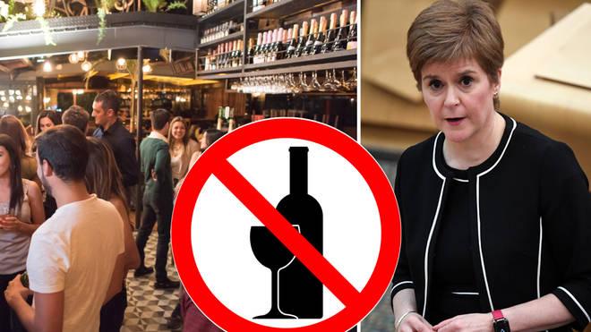Nicola Sturgeon has announced strict lockdown measure for Scotland