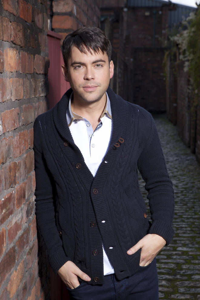 Bruno Langley played Todd Grimshaw for 16 years