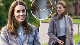 Kate Middleton's beautiful necklace kept her children close to her heart