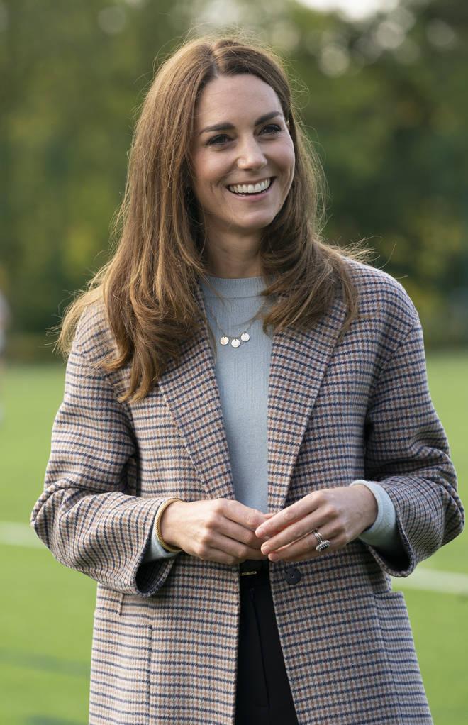 Kate Middleton was visiting Derby University this week