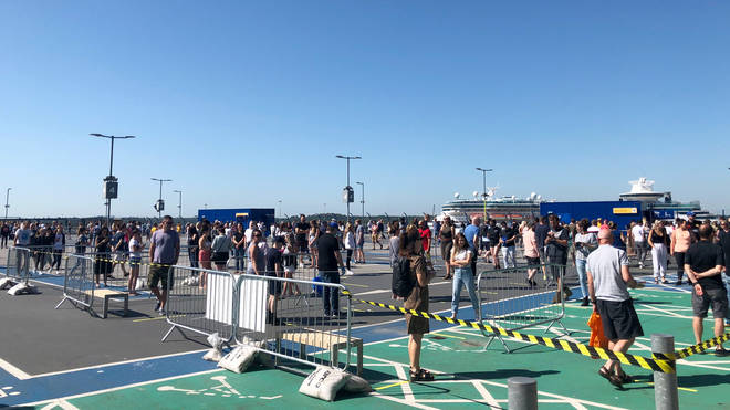 Customers queued for hours to get into IKEA in June