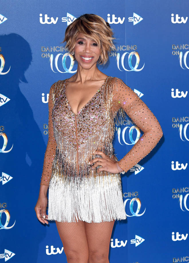 Trisha returned from the US earlier this year to compete in Dancing On Ice
