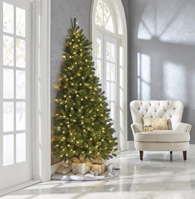 The Christmas Tree is perfect for people who hate decorating the back of the tree