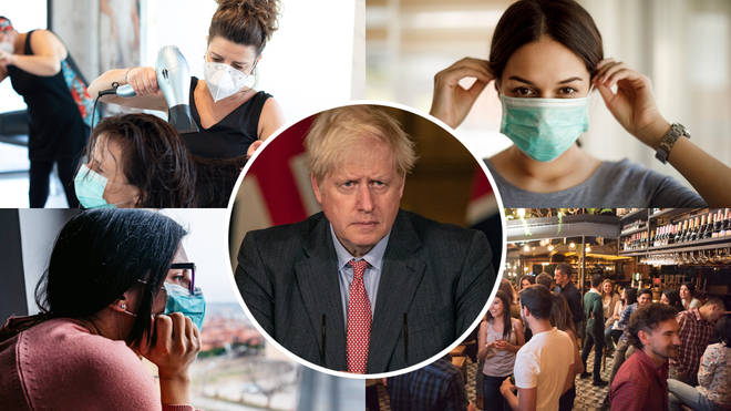 Boris Johnson is expected to announce a number of lockdown changes today