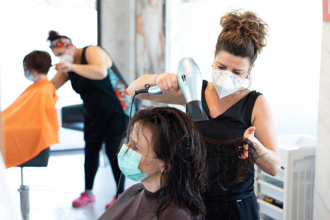 Beauty salons may also be affected by the changes