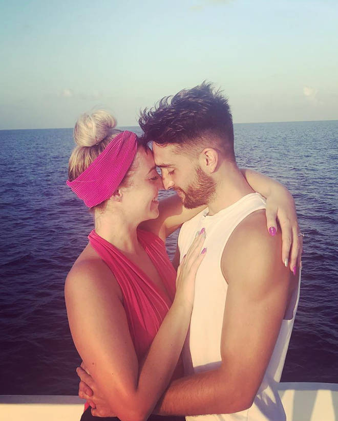 Tom's wife Kelsey said she 'never could have imagined' this diagnosis