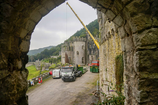 Gwrych Castle is the location for I'm A Celebrity this year