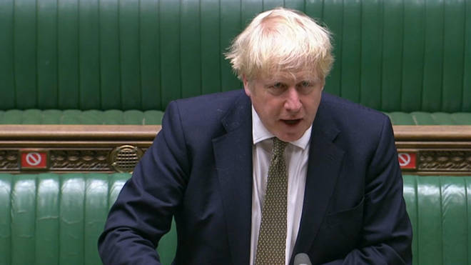 Boris Johnson announced the new system in the House of Commons