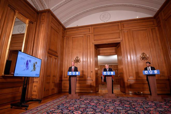 Boris Johnson spoke to the nation on Monday