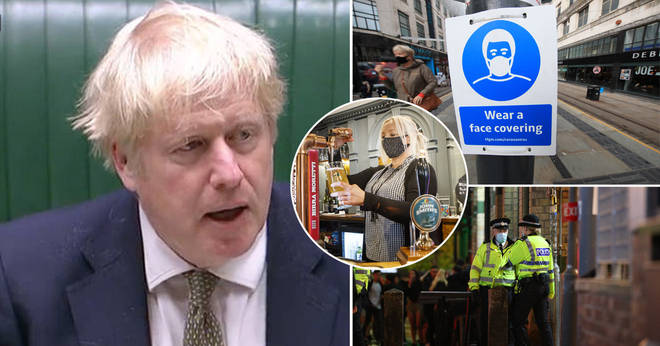 Boris Johnson announced his Three Tier lockdown