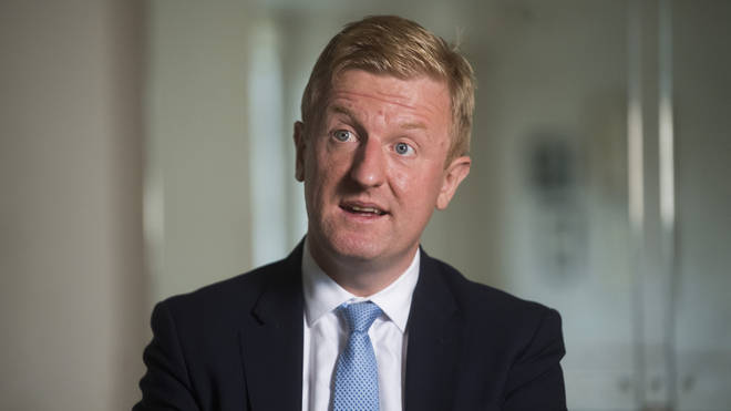 Oliver Dowden has said the advert was 'crass'